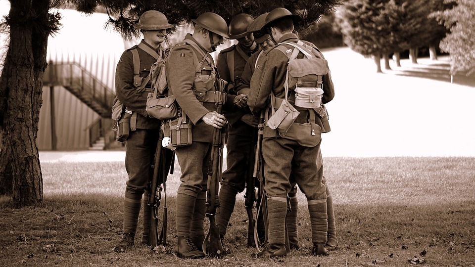Úctu a hold válečným veteránům