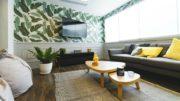 Výmalba obývacího pokoje