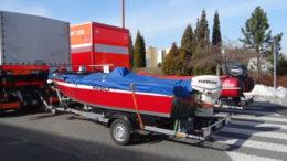 Vodní záchranný tým hasičů odjel na cvičení do Itálie