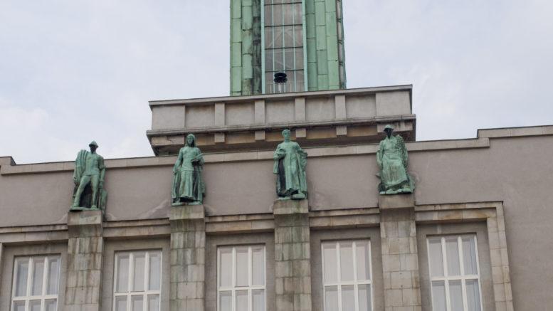 Výměna oken na radnici