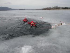 Výcvik ostravských hasičů